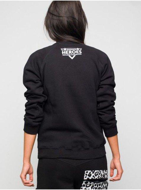 stabilna jakość niska cena Darmowa dostawa Bluza Diamante Wear Joker Hero czarna | LADIES \ bluzy ...