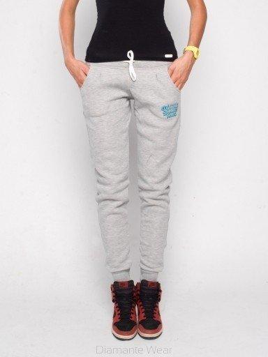 buty jesienne buty sportowe sekcja specjalna Dresy Diamante Wear DLW Classic szare | LADIES \ spodnie ...