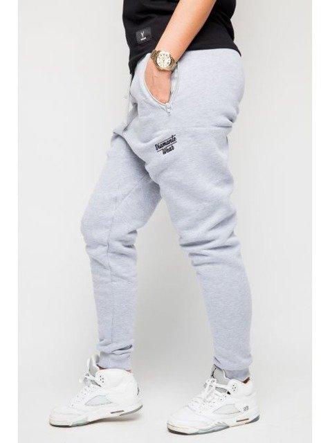 topowe marki autentyczna jakość nowe przyloty Dresy Diamante Wear Hipster szare | LADIES \ spodnie dresowe ...