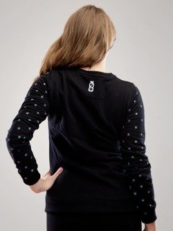 Bluza Lucky Dice Simple star czarna